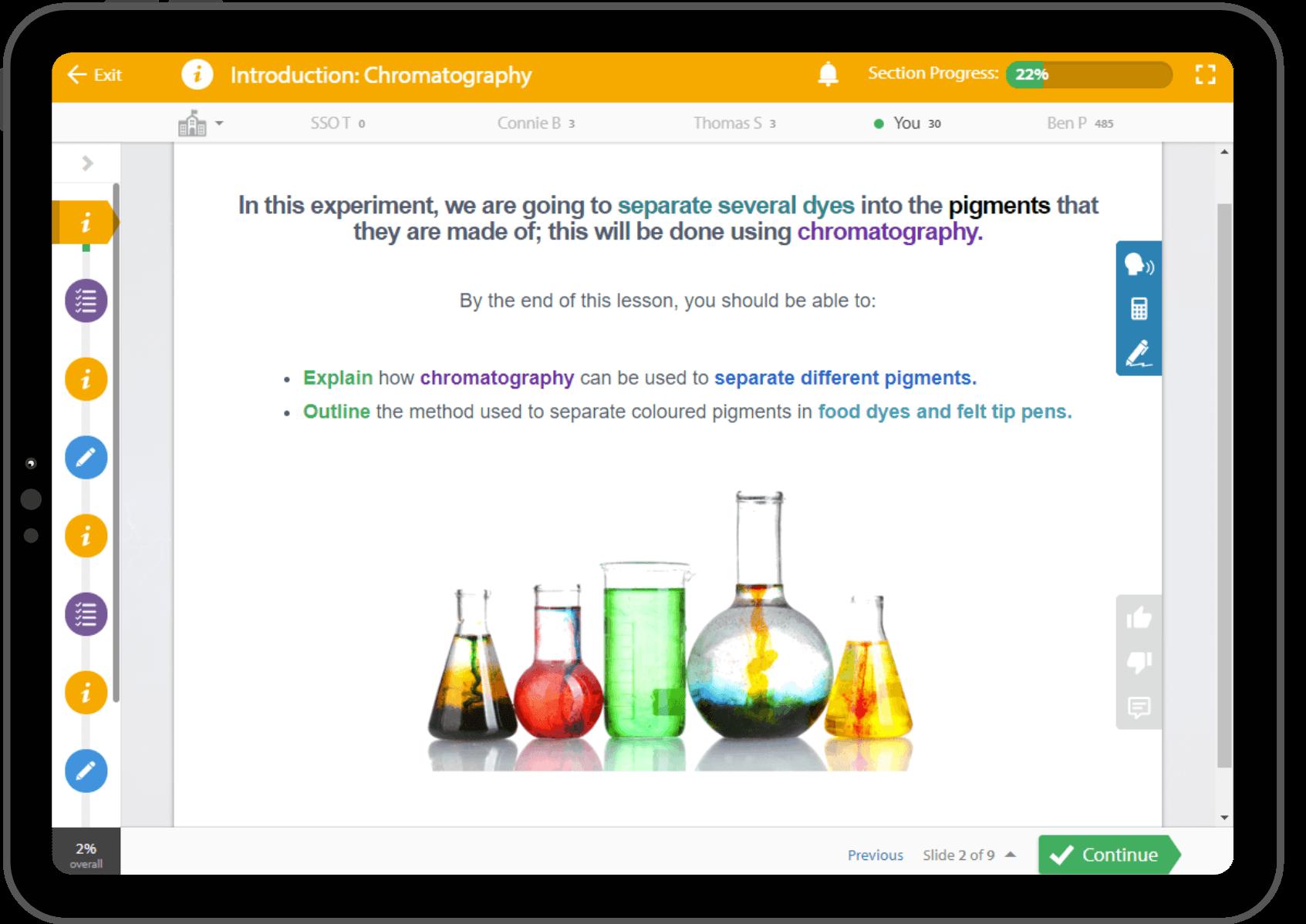 EPSchoolScienceEasyExperiments, Education Perfect