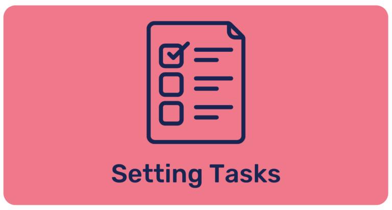 Getting Started – Setting Tasks